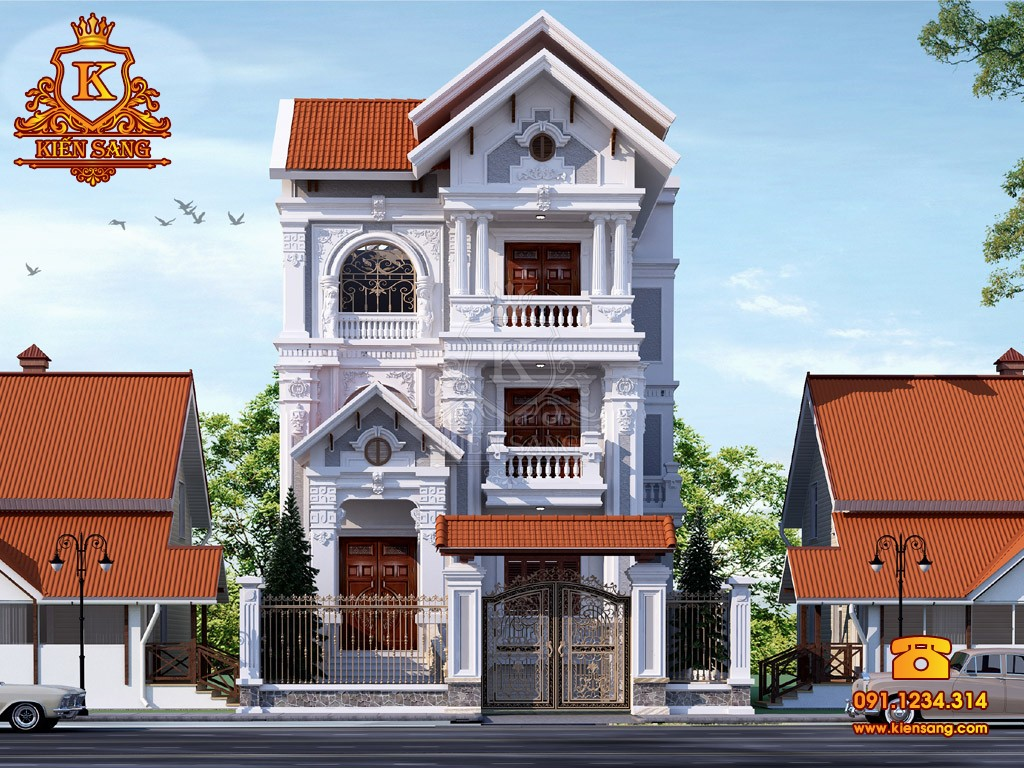 Bản vẽ thiết kế biệt thự tại Quảng Trị