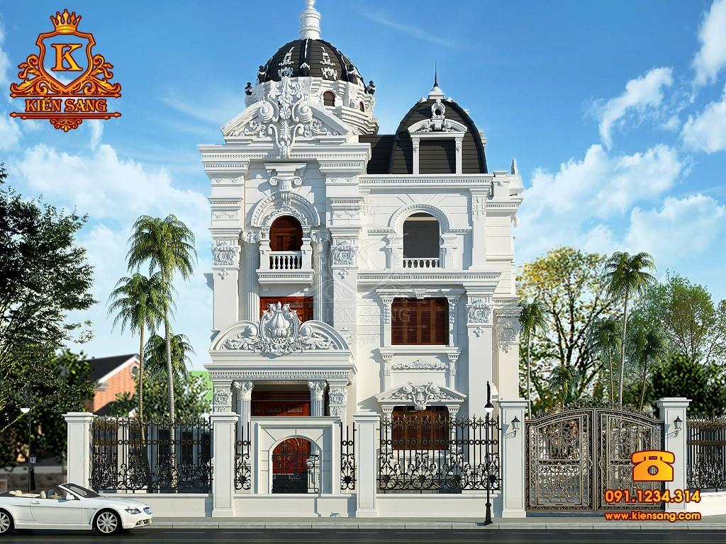 Bản vẽ thiết kế biệt thự tại Lào Cai
