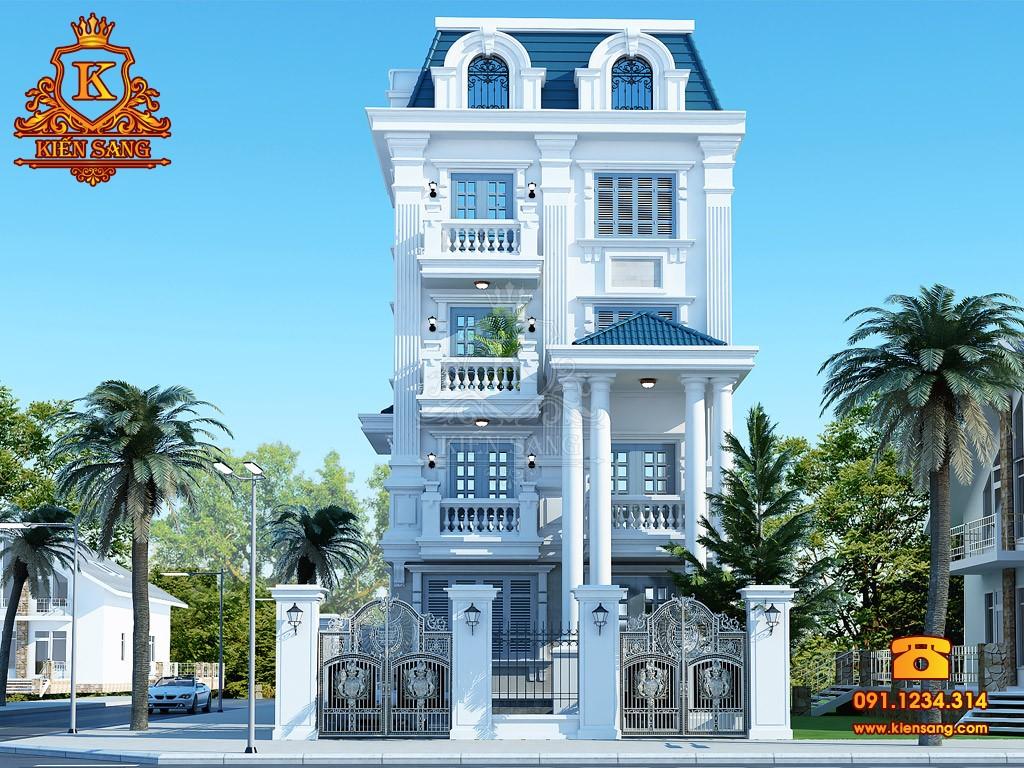 Bản vẽ thiết kế biệt thự tại Quảng Bình