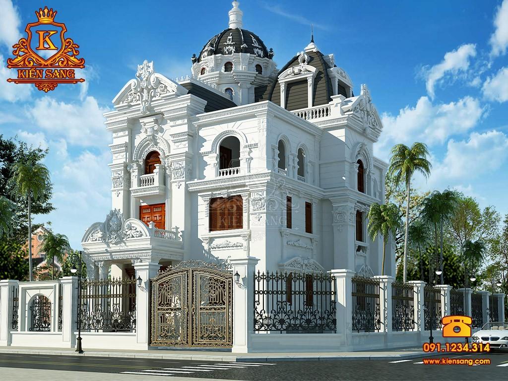 Bản vẽ thiết kế biệt thự tại Vĩnh Long