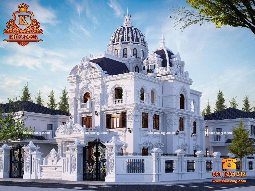 Bản vẽ thiết kế biệt thự tại Thanh Hóa