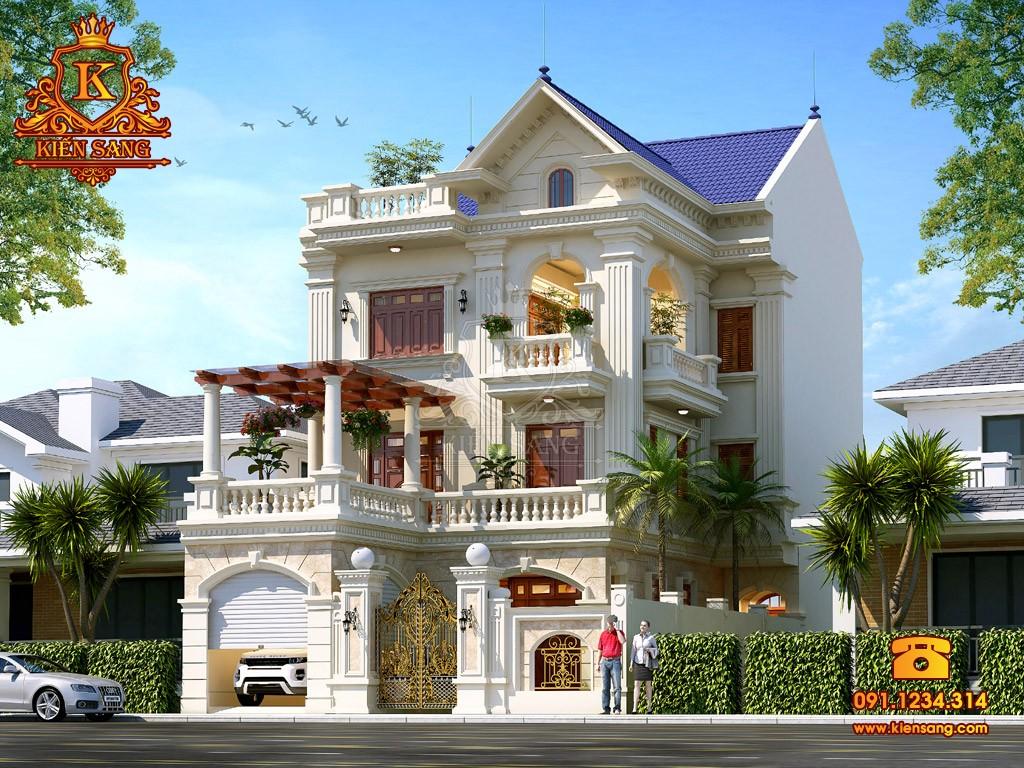 Bản vẽ thiết kế biệt thự tại Sơn La