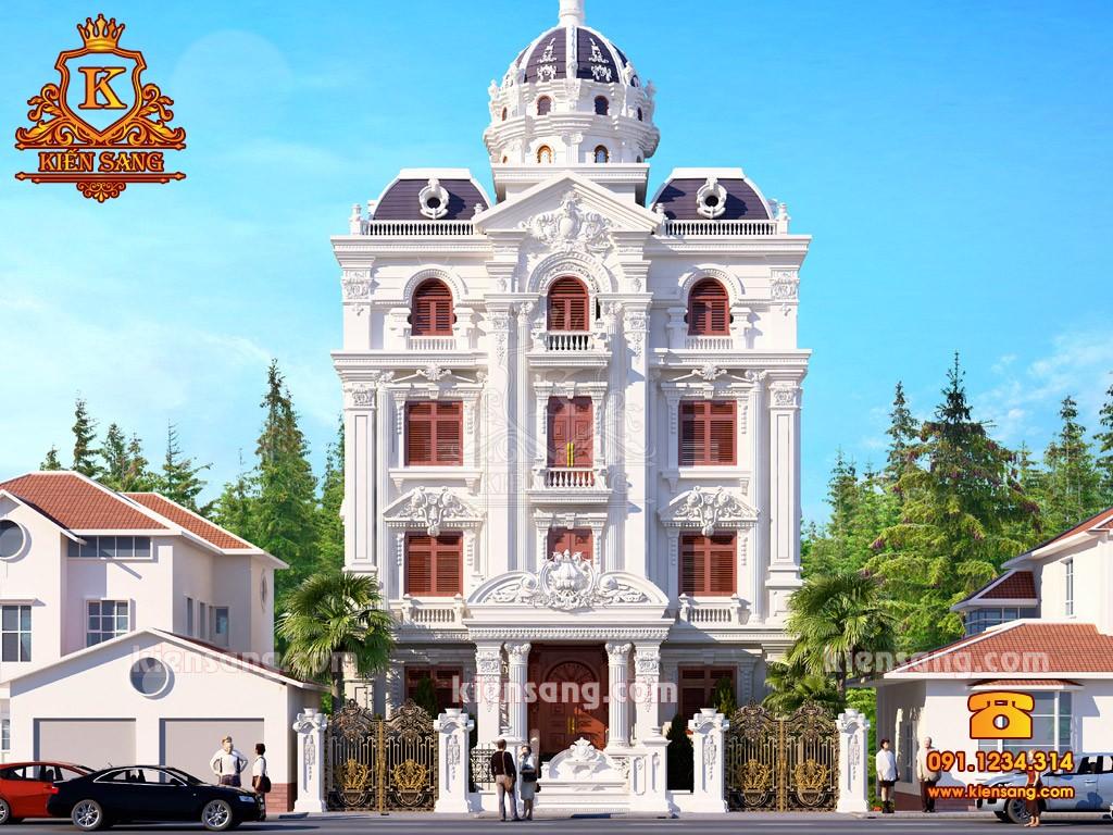 Bản vẽ thiết kế biệt thự tại Trà Vinh