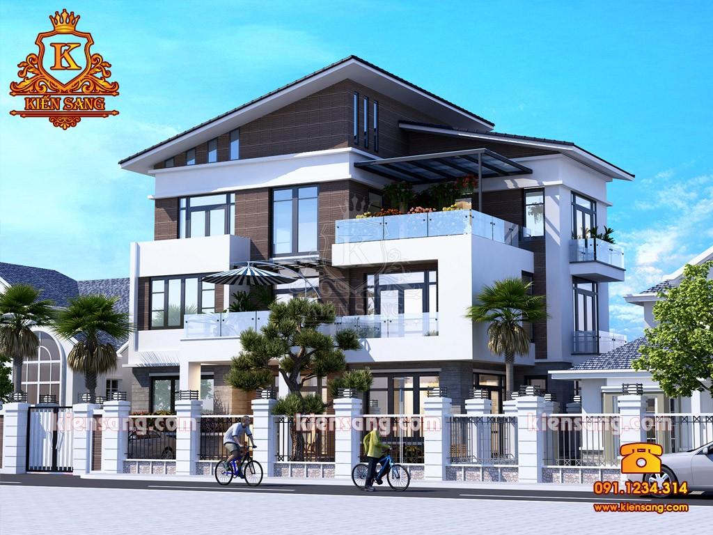 Bản vẽ thiết kế biệt thự tại Hà Tĩnh