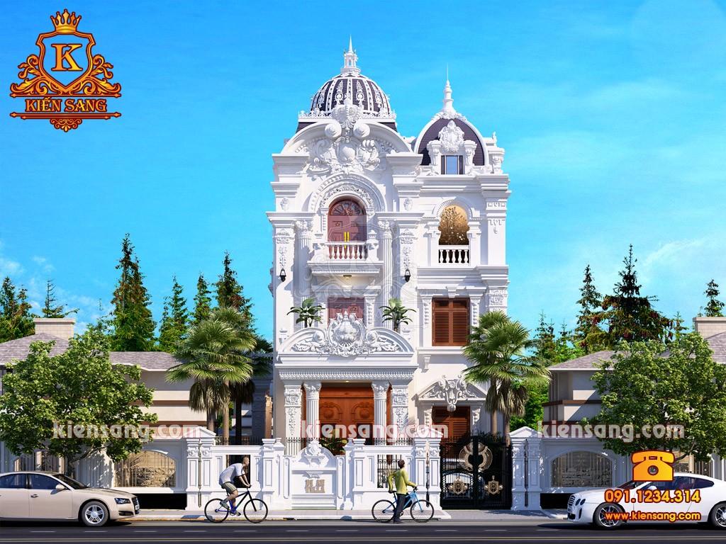 Bản vẽ thiết kế biệt thự tại Thái Nguyên