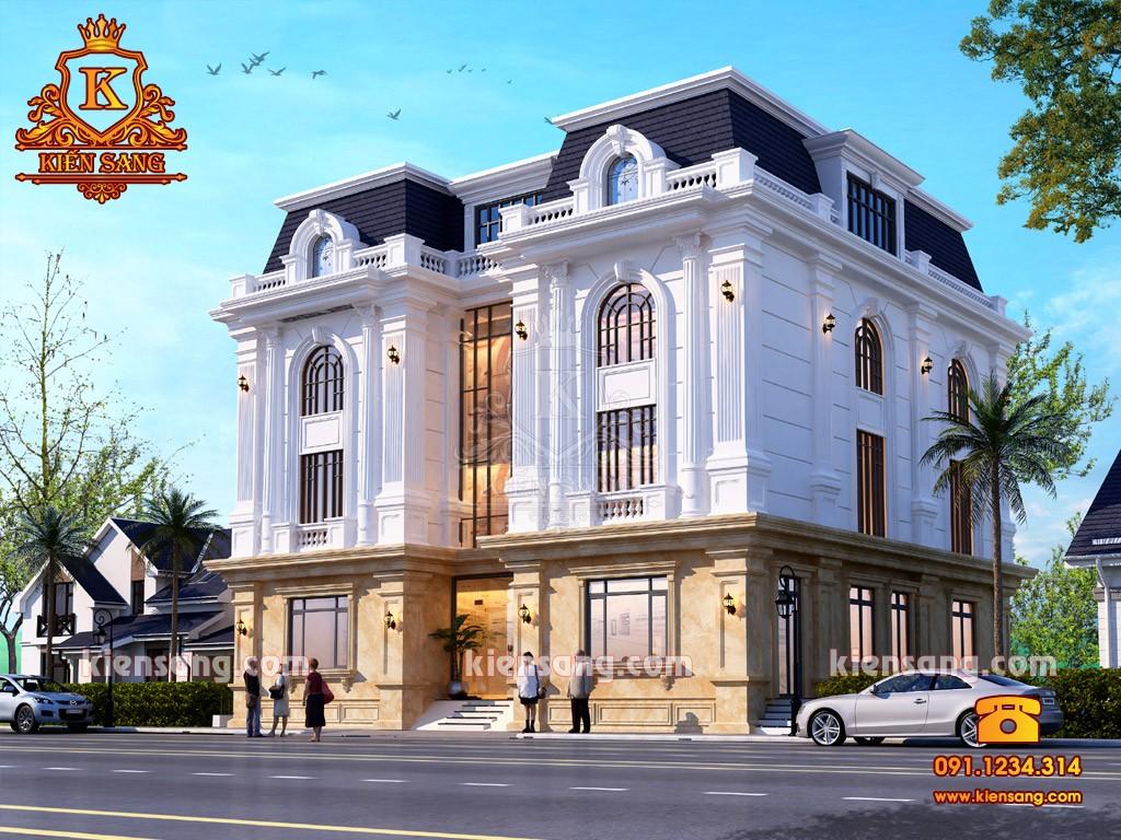 Bản vẽ thiết kế biệt thự tại Hưng Yên