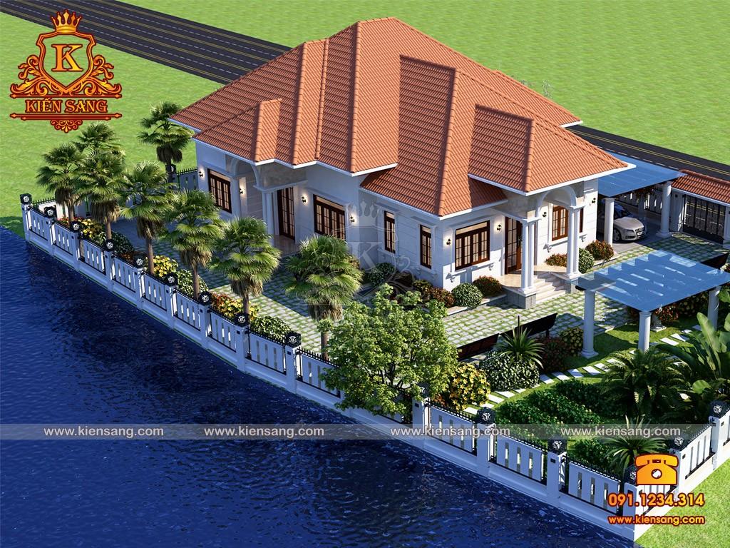 Bản vẽ thiết kế biệt thự tại Cao Bằng