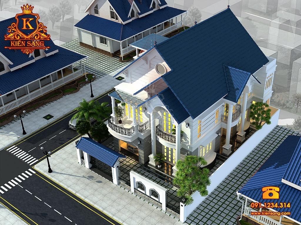 Bản vẽ thiết kế biệt thự tại Lạng Sơn
