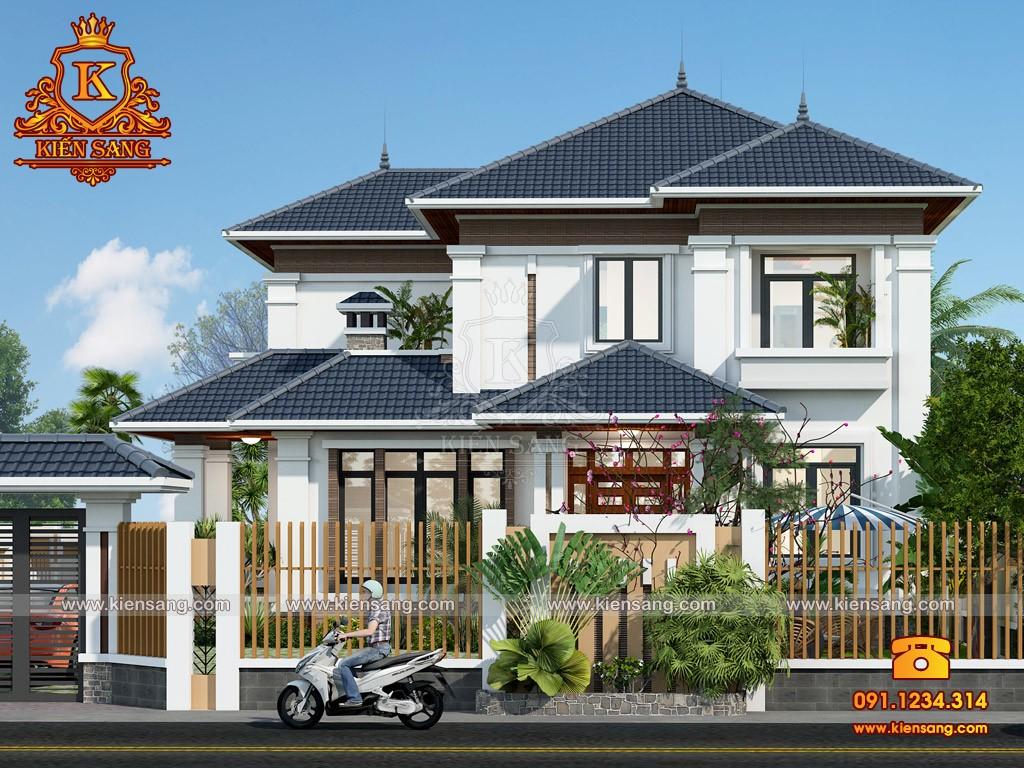 Bản vẽ thiết kế biệt thự tại Hà Giang