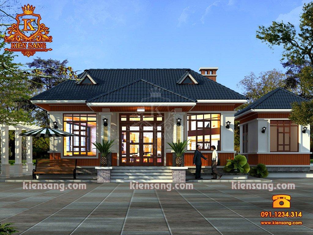 Bản vẽ thiết kế biệt thự tại Nghệ An