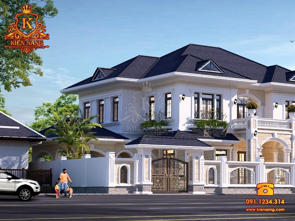 Bản vẽ thiết kế biệt thự tại Lai Châu