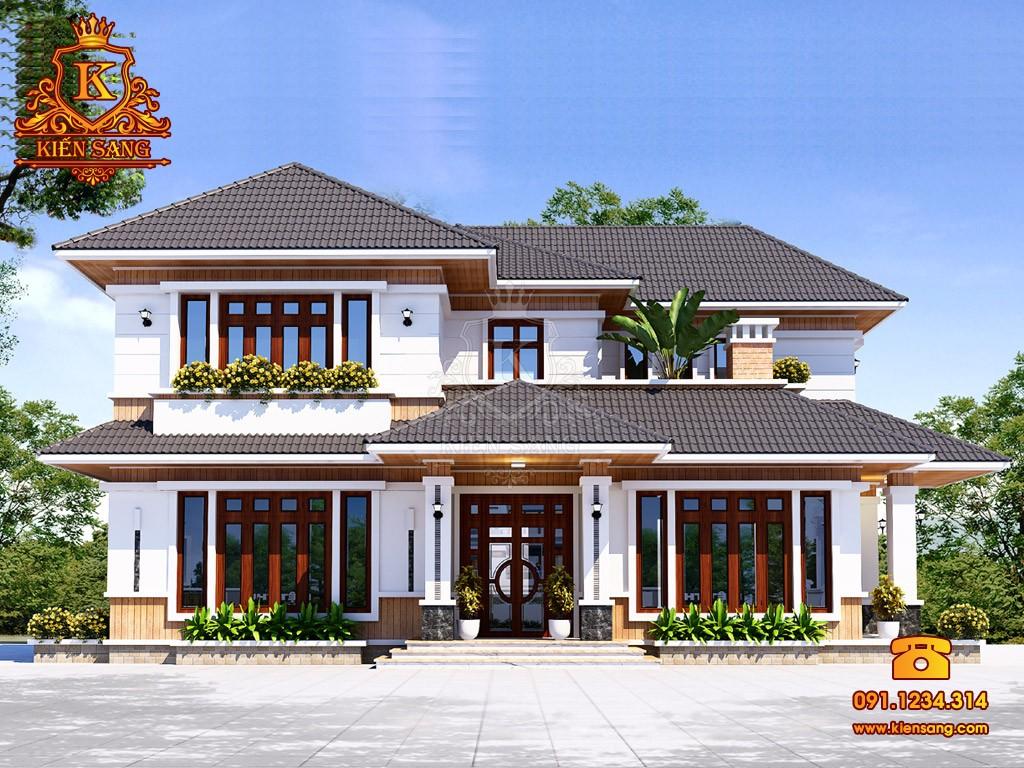 Bản vẽ thiết kế biệt thự tại Bình Định