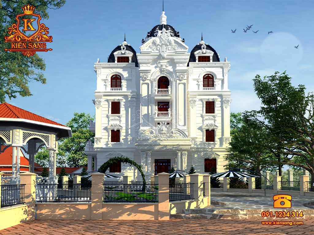 Bản vẽ thiết kế biệt thự tại Phú Thọ