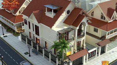 Hỏi xin bản vẽ thiết kế biệt thự 2 tầng 150m2 đẹp?