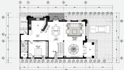 Download file cad biệt thự 3 tầng đẹp 2018