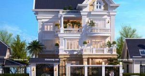 Hỏi xin mẫu thiết kế biệt thự 3 tầng 100m2 đẹp