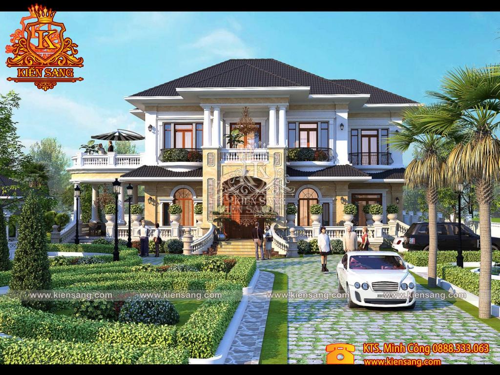 Hoàn thiện dự án thiết kế biệt thự 2 tầng tại Hạ Long, Quảng Ninh