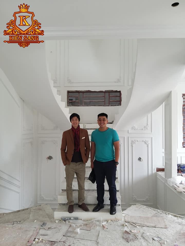 Thi công biệt thự 3 tầng trọn gói tại Vĩnh Phúc