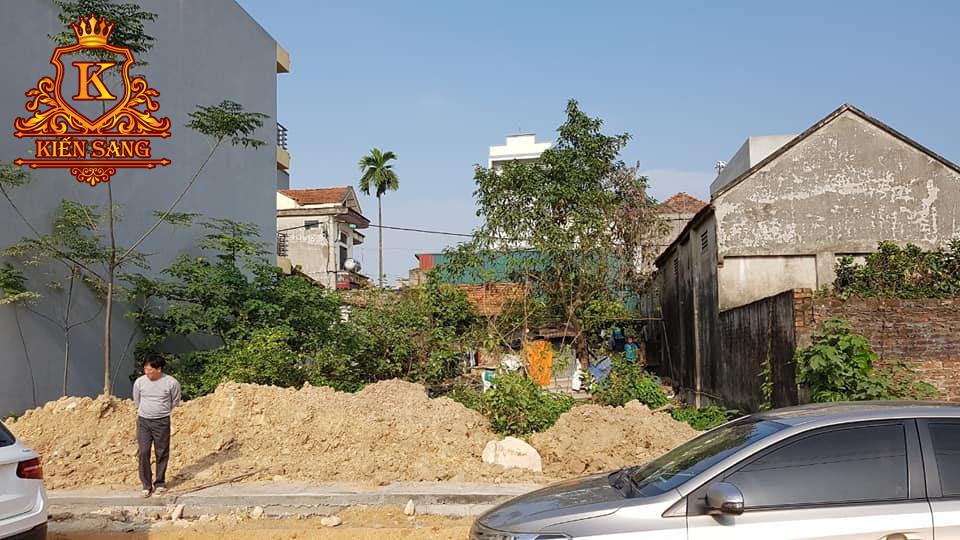 Khảo sát hiện trạng khu đất xây dựng tại Hoài Đức, Hà Nội