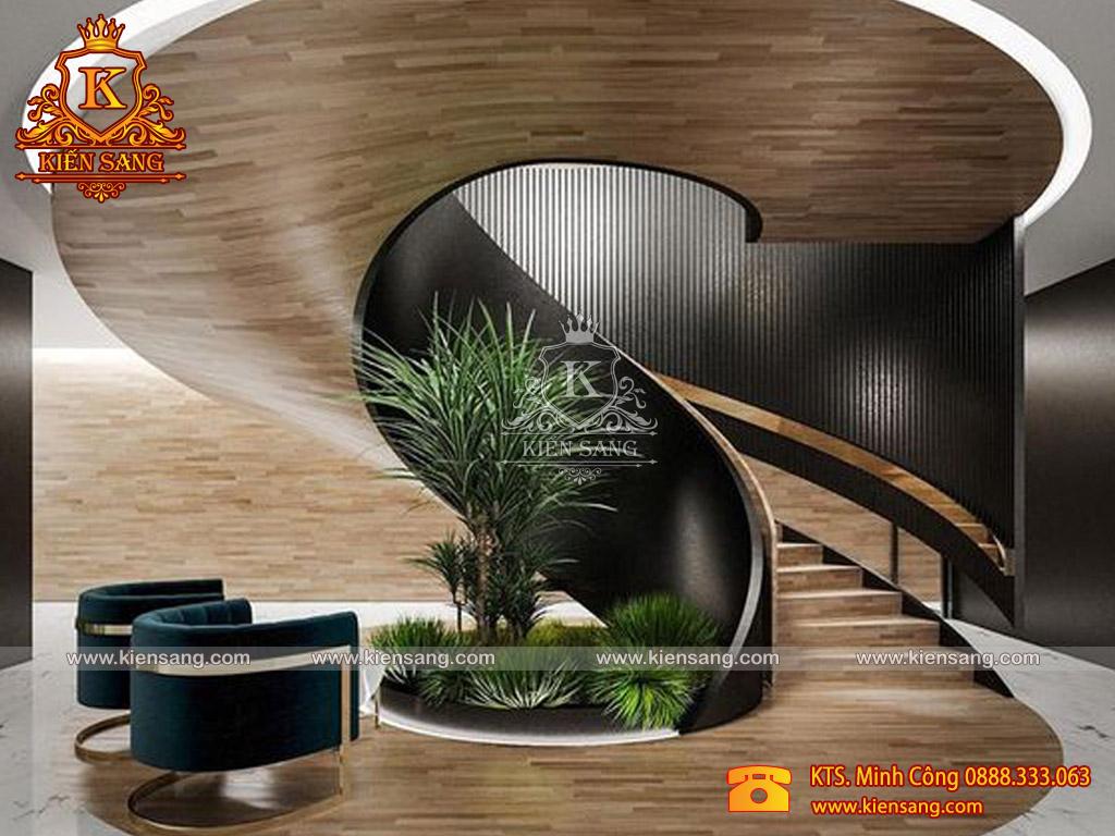 Nguyên tắc thiết kế cầu thang trong nhà ở biệt thự