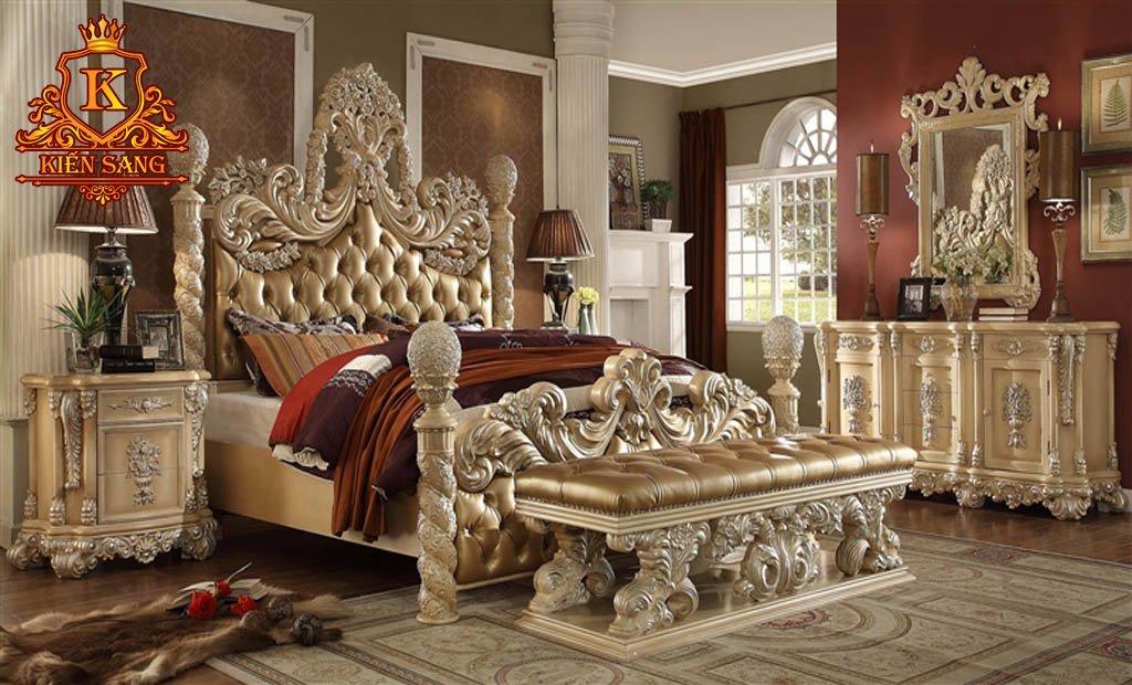 nội thất phòng ngủ bán cổ điển