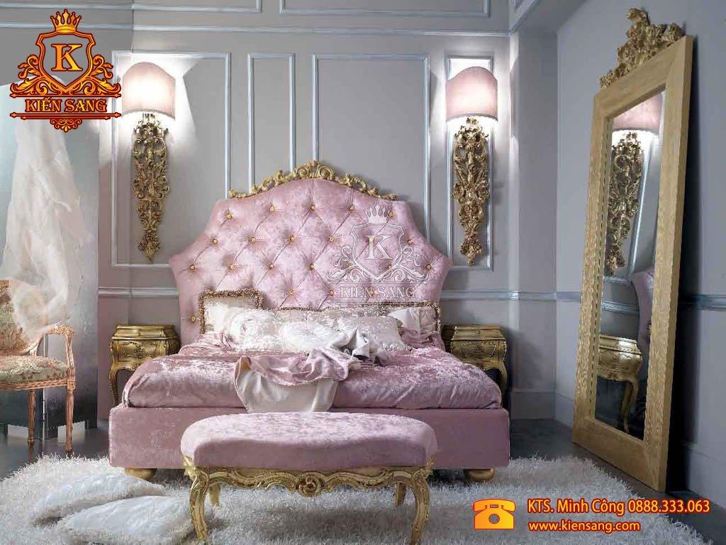 bộ phòng ngủ tân cổ điển