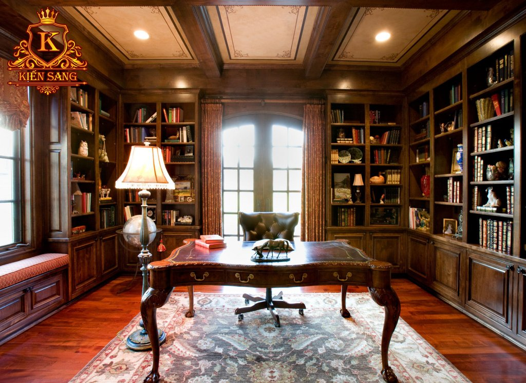 Phòng làm việc cổ điển