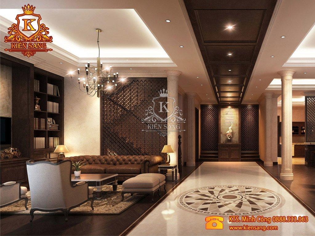 Thiết kế biệt thự hiện đại 1 tầng tại Hà Nội