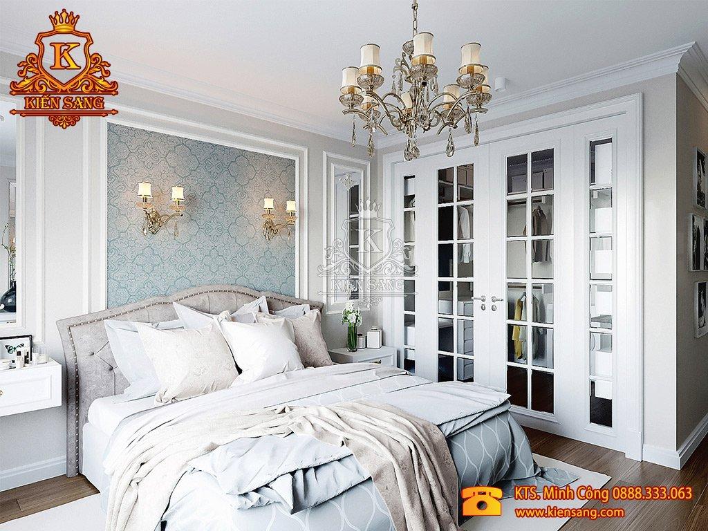 Mẫu thiết kế nội thất phòng ngủ nhà phố