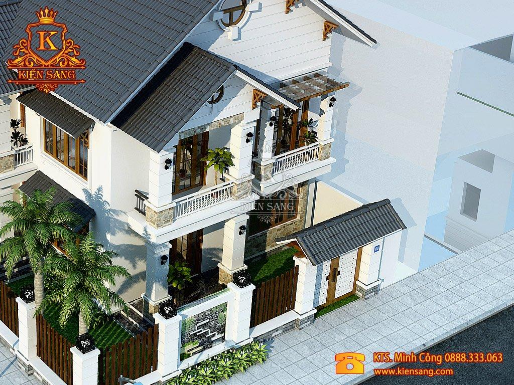 Biệt thự 2 tầng cổ điển tại Bắc Ninh