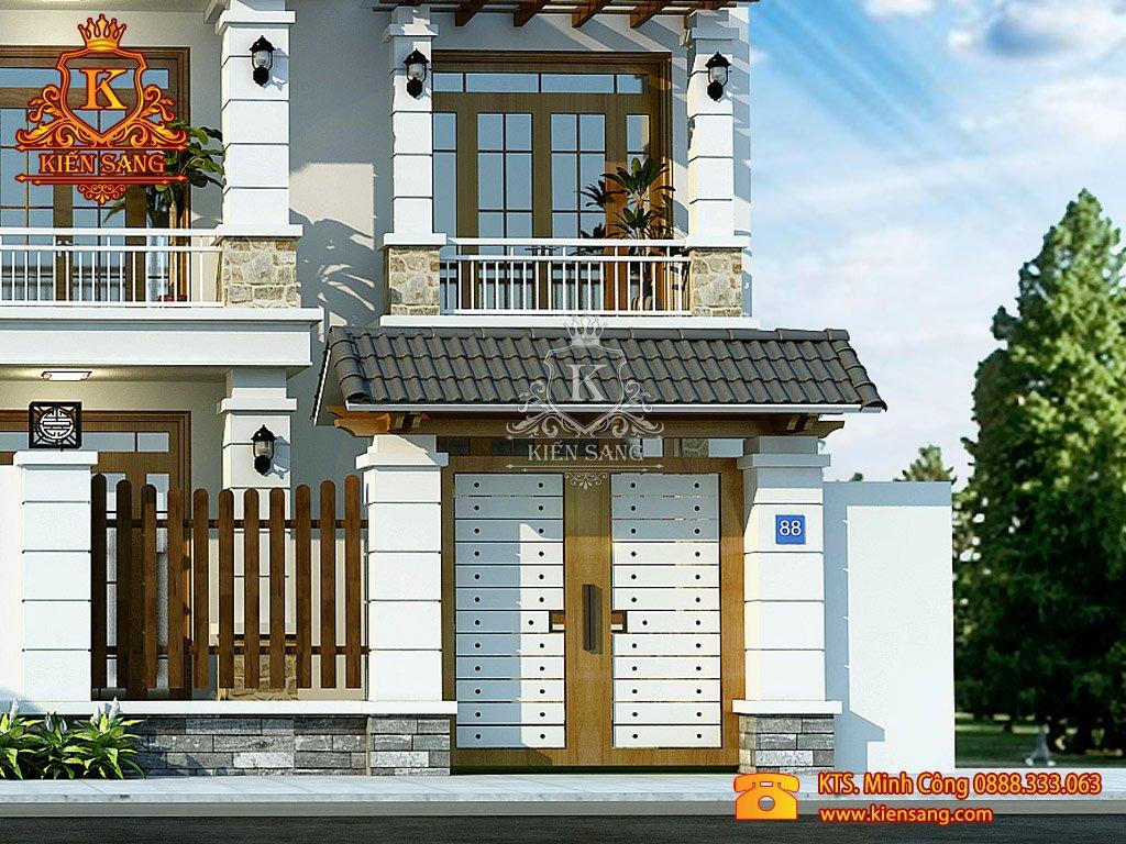 Thiết kế nhà phố tại Ninh Thuận