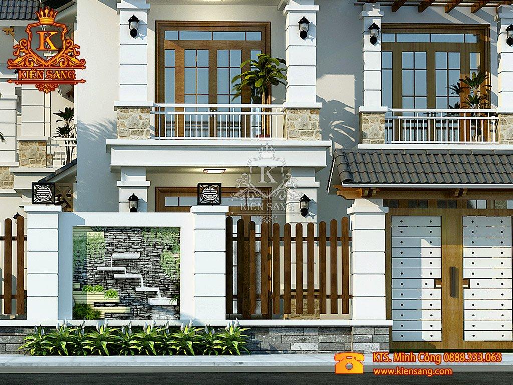 Thiết kế nhà phố tại Đồng Tháp