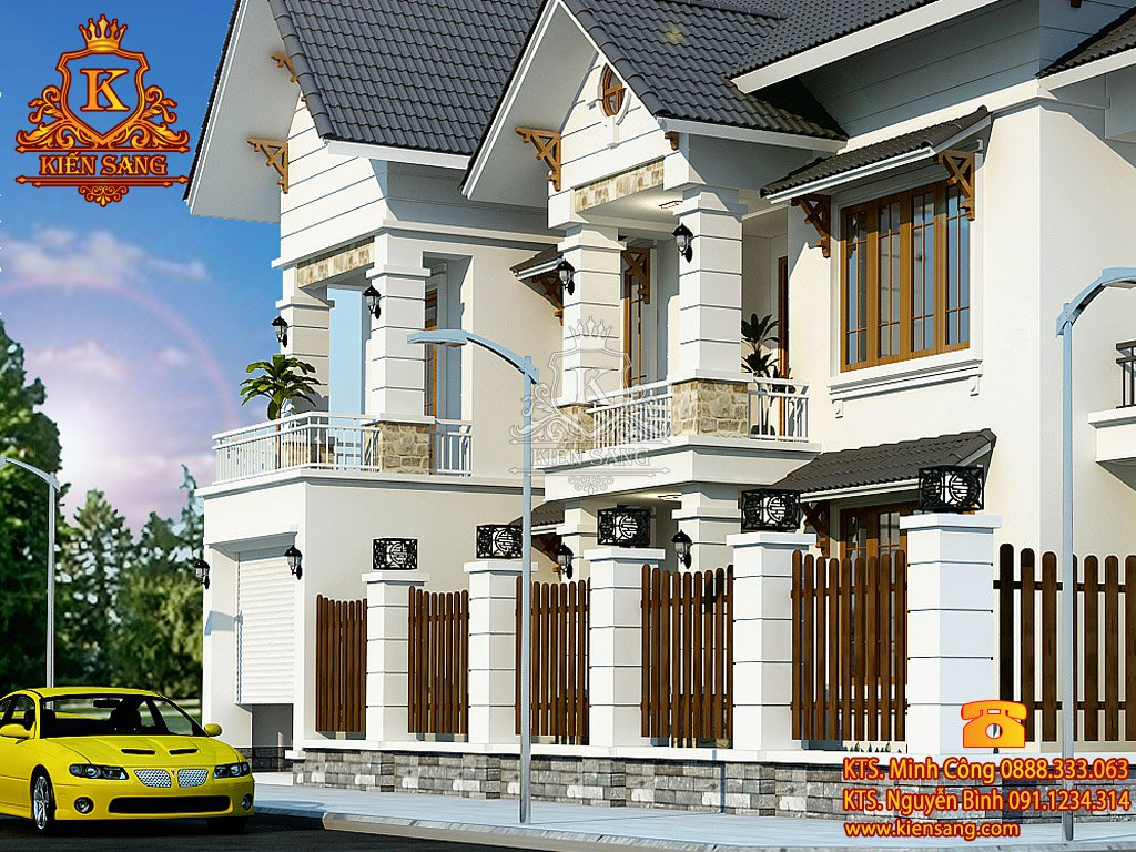 Thiết kế nhà phố tại Kiên Giang