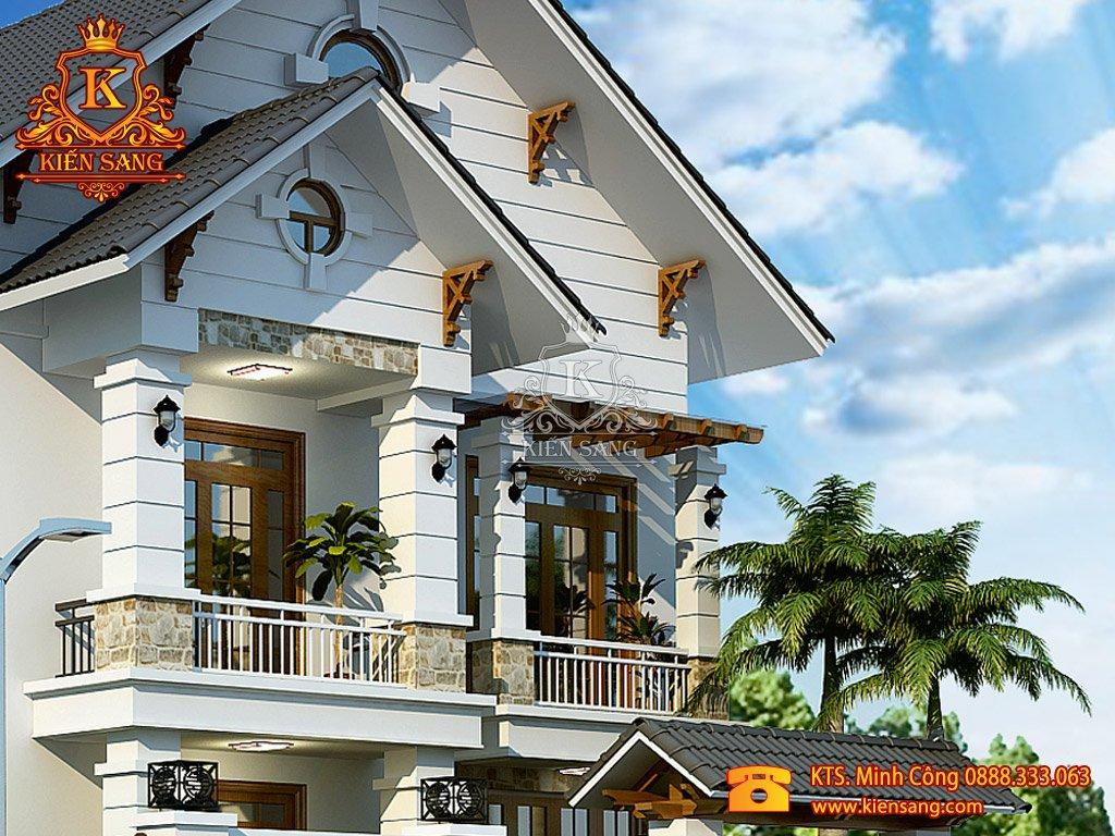 Thiết kế biệt thự tại Sơn La