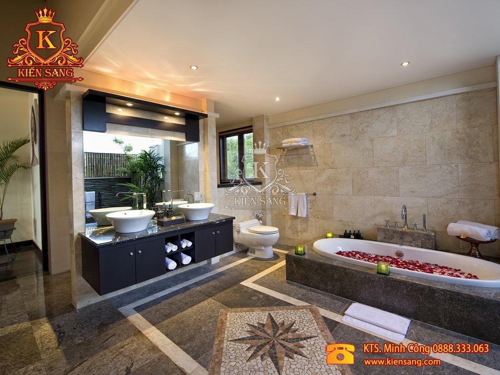 Thiết kế biệt thự 1 tầng tại Kiên Giang