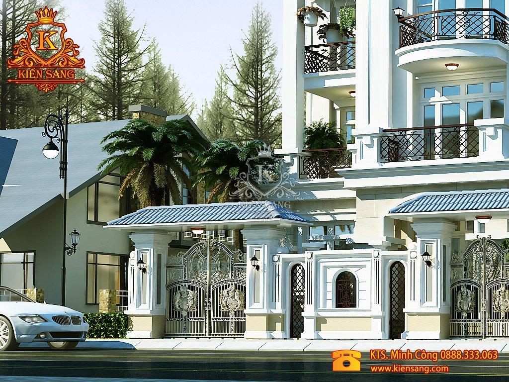 Biệt thự 3 tầng tân cổ điển tại Thanh Xuân