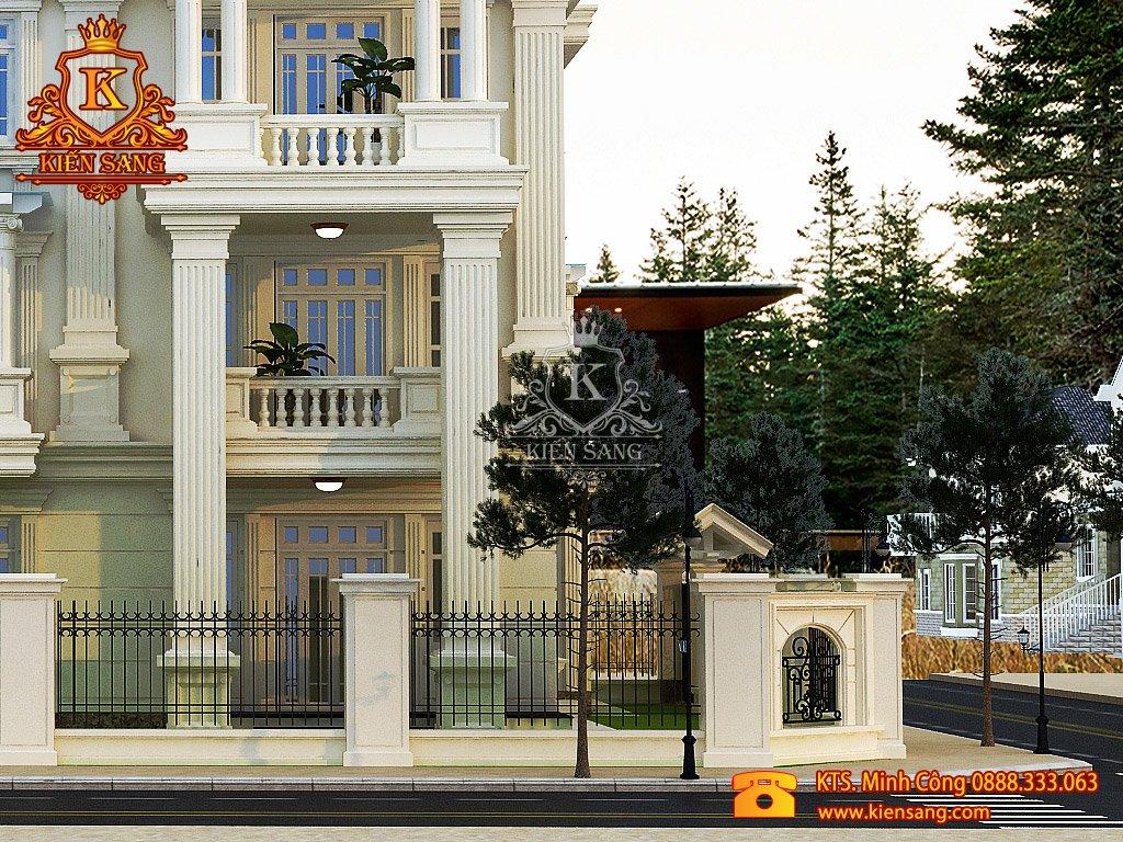 Biệt thự 3 tầng cổ điển tại Thanh Xuân