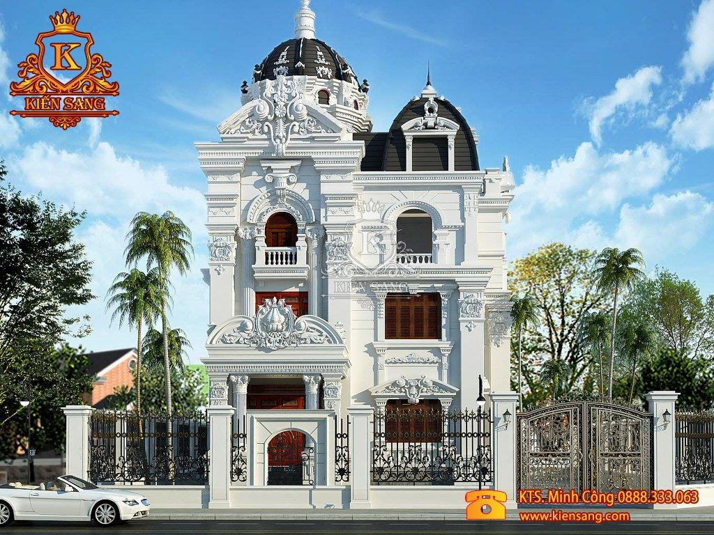 Biệt thự 5 tầng cổ điển tại Đồ Sơn