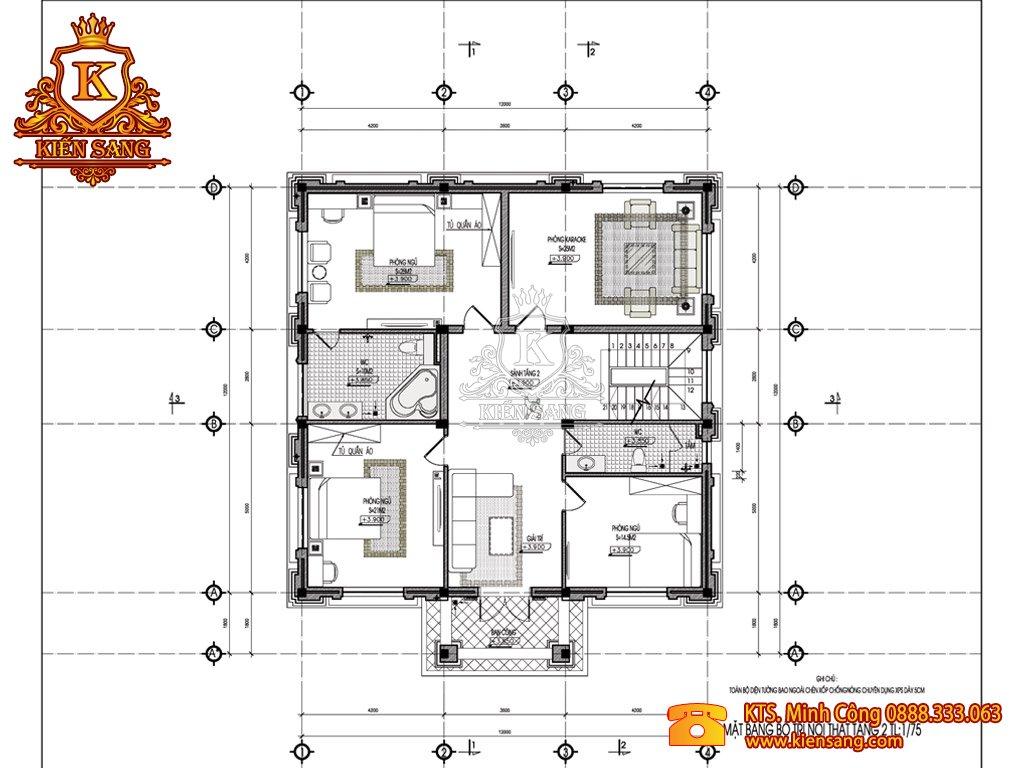 Biệt thự 5 tầng cổ điển tại Hoài Đức