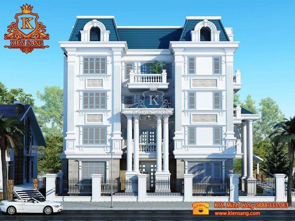 Thiết kế nhà phố tại Lai Châu