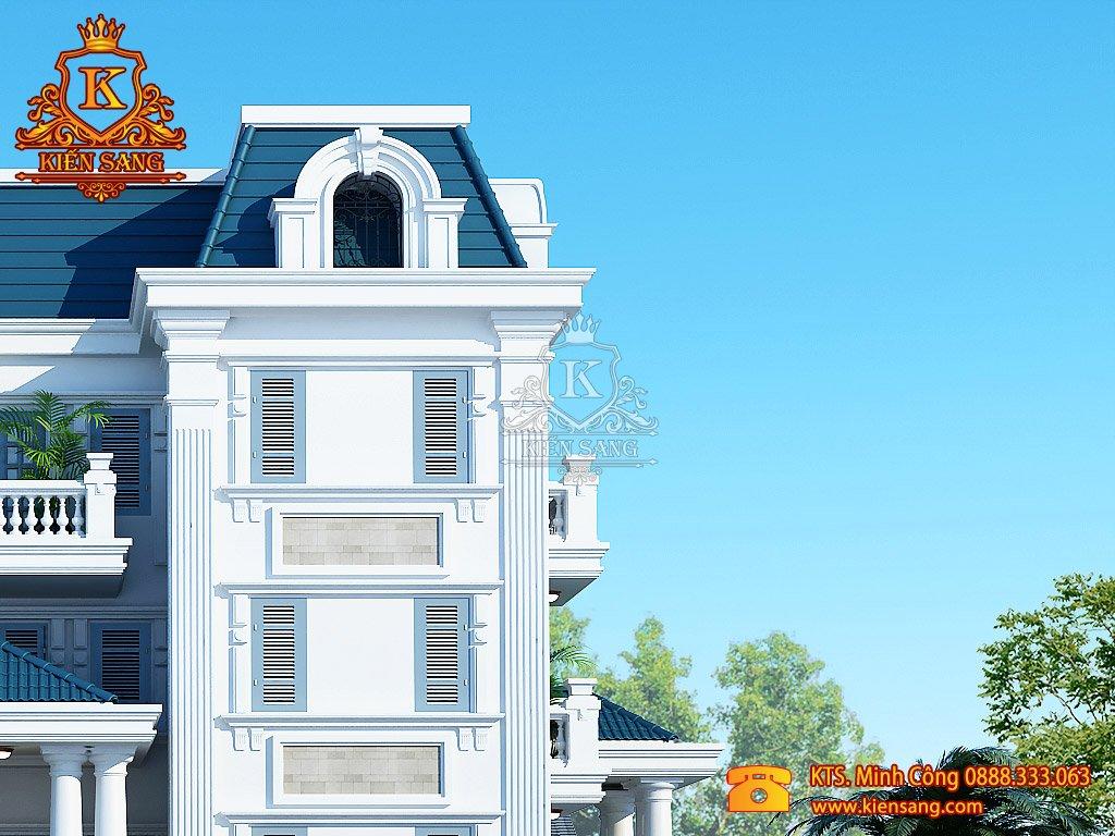 Thiết kế nhà phố tại Vĩnh Long