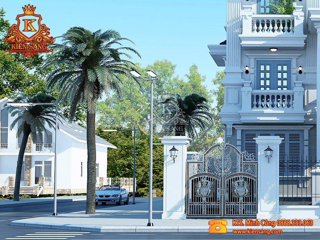 Thiết kế nhà phố tại Hậu Giang