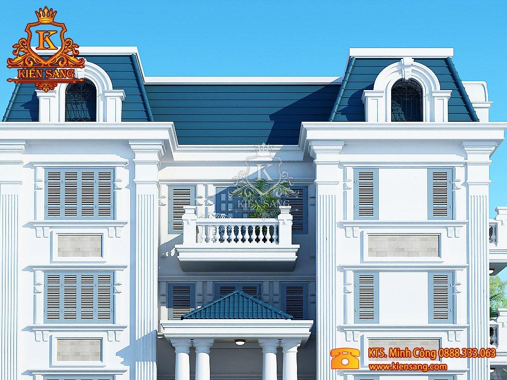 Biệt thự 5 tầng cổ điển tại Thái Nguyên
