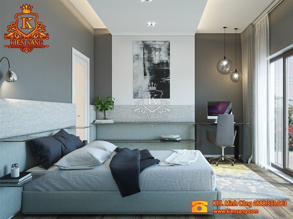 Mẫu thiết kế nội thất phòng ngủ khách sạn 3 sao