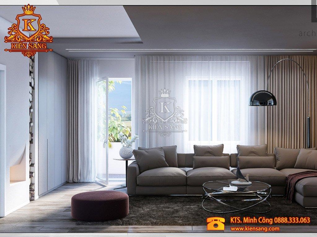 Nội thất chung cư hiện đại tại Hoàn Kiếm