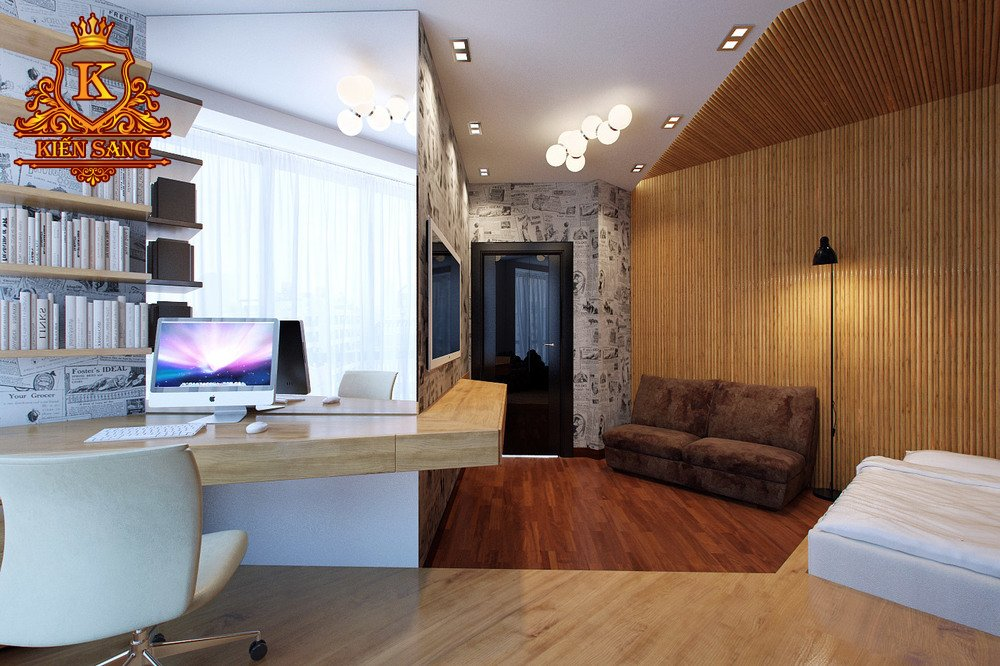 Nội thất chung cư hiện đại tại Nam Từ Liêm