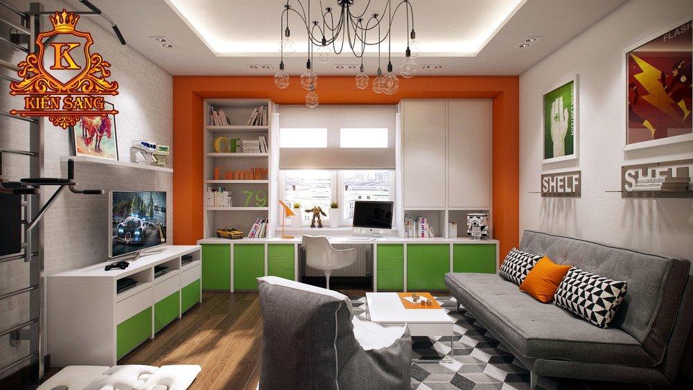 Nội thất chung cư hiện đại tại Bắc Từ Liêm