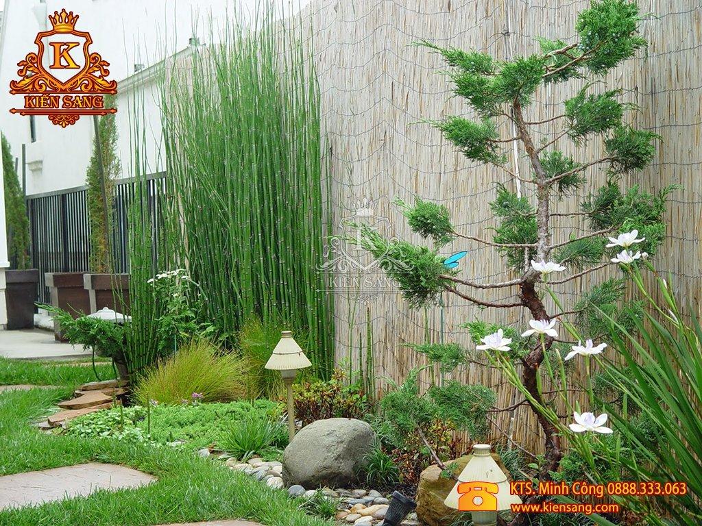 Tiểu cảnh sân vườn tại Ba Vì