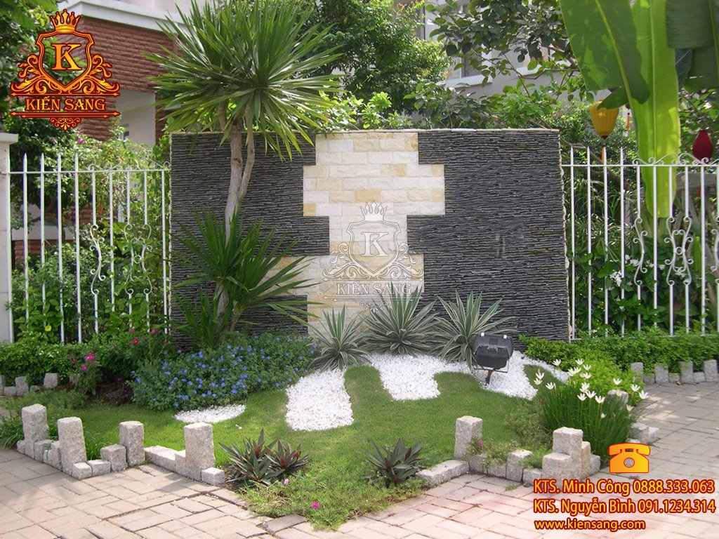 Tiểu cảnh sân vườn tại Thanh Trì