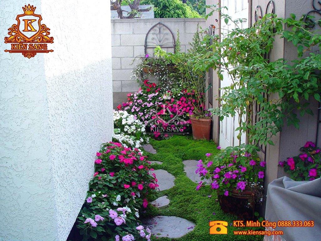 Tiểu cảnh sân vườn tại Thanh Xuân